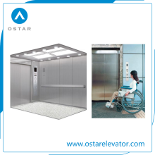 Ascenseur d'hôpital, ascenseur de passager pour transporter le lit médical