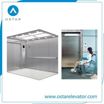 Elevador confortável do serviço médico de elevador da cama de hospital da segurança