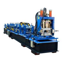 Chine fabricant nouveau design changement rapide cz purlin interchangeables tuiles faisant la machine
