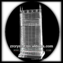Wunderbares Kristallgebäude Modell H043