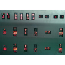 Indicador de elevador, elevador de indicador, Display Serial, visualização paralela