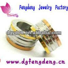 Pendientes de aro de joyería de acero inoxidable 316L para hombres
