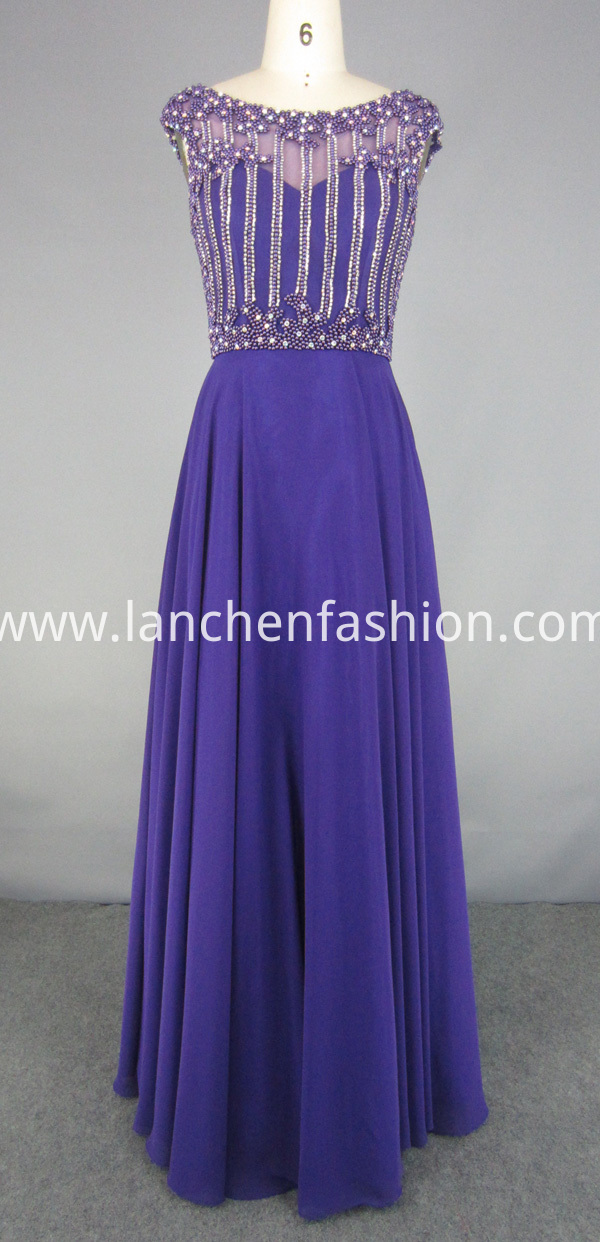 Bridesmaid Dress purple
