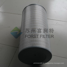 FORST Square End Up Indústria Papel Filtro de Ar Peças