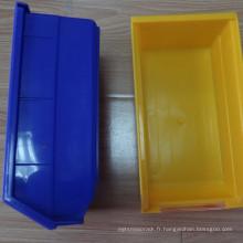 Bacs de rangement fixés au mur / bac de rangement avec différentes couleurs