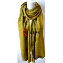 Châle en acrylique tricoté (12-BR201812-8)