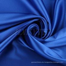 Seiden-ähnlich mit hochelastischem Polyester-Satin-Material für Oberbekleidung