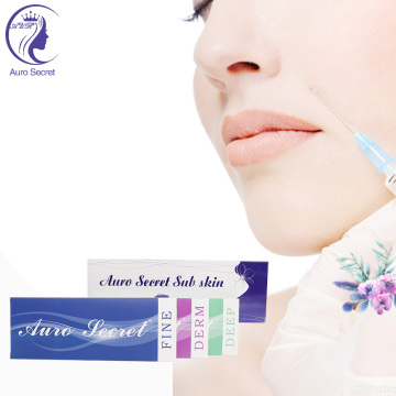 High Quality Hyaluronic Acid Sodium Dermal Filler Liquid