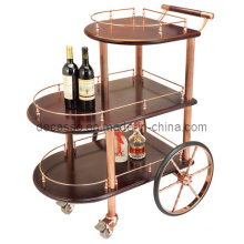Three-Tiered Wine Trolley (DE24)