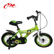 fábrica de productos 12 pulgadas bicicleta niño bicicleta / niños al aire libre una rueda bicicleta para niños / nuevo diseño niños deportes bicicleta