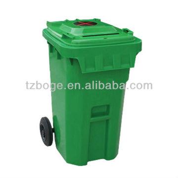 нестандартная конструкция пластиковый на открытом воздухе мусорное ведро прессформа впрыски