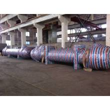 Channel Spacing Spiral-plate Heat Exchanger