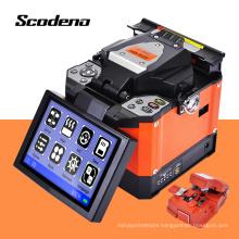Scodeno Shockproof Drop Resistance Optical Fiber Splicer Fusion Fiber Optic cable Fusion Splicing Machine