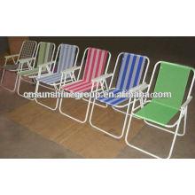 Cadeira de praia, ao ar livre, deck para venda de dobramento