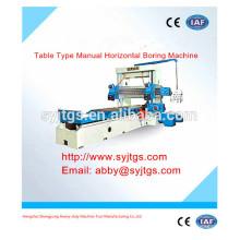Tipo de tabla Manual Horizontal Boring Machine precio y proveedor para la venta