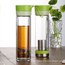 wholesale transparent leak proof Water bottle with filter