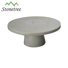 elegant granite cake stand