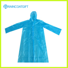 Disposable Cheap PE Raincoat Rpe-099