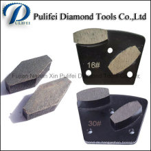 Diamant-Beton-Schleifsegment für Beton Terrazzo Boden glatt schleifen