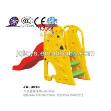 Hotsale plástico exterior Kids Play Tube Slide Spiral Slide