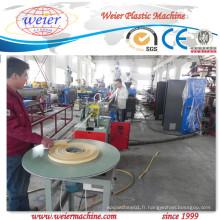 Emboutissage à chaud ligne de bordure de PVC ligne de production 600mm
