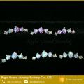 Forma de lua Forma Ear Tragus Cartilagem Prong conjunto Opal Helix Earring