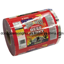 Rindfleisch Jerky Packaging Film / Snack Roll Film / Kunststoff Lebensmittel Film