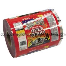 Película de embalaje de carne de vaca / película de Snack Roll / Película de alimento de plástico
