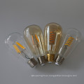 Claro ámbar vidrio regulable 4w LED suave bombilla ST64