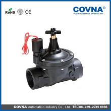 Válvula de riego de plástico regulable de flujo ajustable IP68 pvc