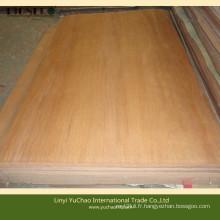 4'x6'x0.3mm Placage en bois naturel plomb rotatif