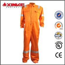 fabrication de sécurité orange travail uniforme pour vêtements de travail Sinapore