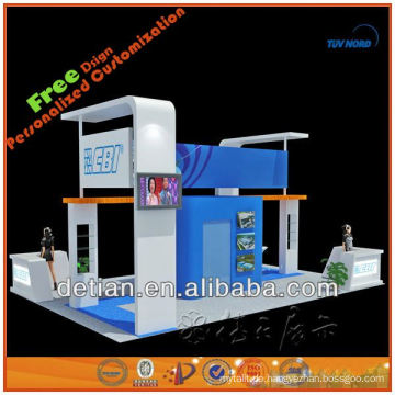 Portable maßgefertigter Ausstellungsshow-Standmesse-Standstand für das Leasing und den Verkauf in China