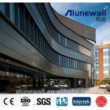 4mm Alucobond double side Copper Composite Panel CCP with maximum 2.03 width factory price