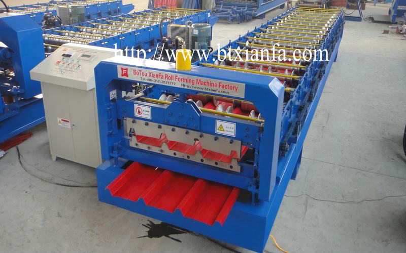 Roofing Sheet Metal Forming Machine