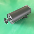 super quiet silencer muffler generator for 168f 188f gasoline generator