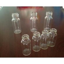 Frasco de cristal Tubular claro de alta calidad