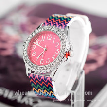 Relógios promocionais 2015 estilos mulheres adolescentes moda presente relógio de pulso