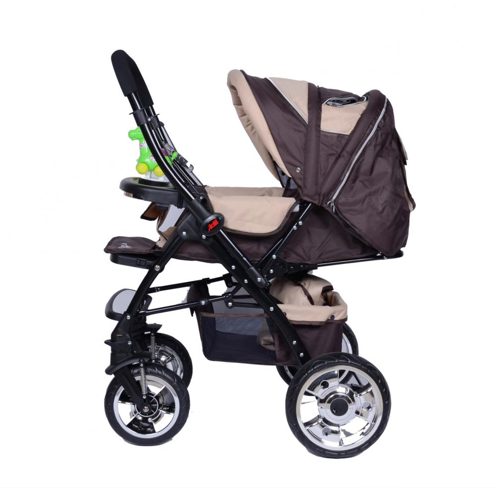 Luxury Shock Absorption Large Wheel Baby Stroller