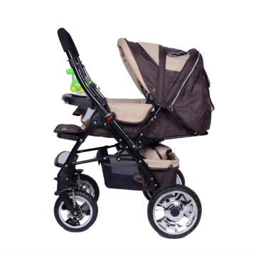 Shock Absorption Luxury Large Wheel Baby Stroller