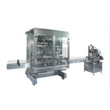 Máquina automática de llenado y tapado de ocho canales