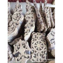 Anqitue madera tallada onlays fabricación