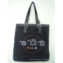 Digital Camera Tote Bag with PU Handles