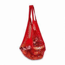 Fruit Mesh Bag, Made of Cotton, Various Patterns, Colors, Sizes and Logos are Available