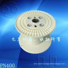 Carretes de China, el carrete de cable de plástico. Bobina de alambre PN400