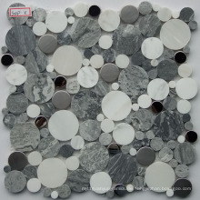 Kiesel Marmor Mosaik