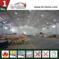 1000 qm großes Garagentor Lagerzelt für temporäre Lagerung