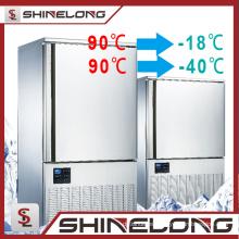 Congelador de refrigerador del gabinete del equipo de refrigeración 2017 congelador comercial del refrigerador