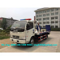 2016 New Euro IV Mini china tow truck, 4200*2300 mm platform tow trucks sale in Chile