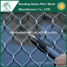 stainless steel animal aviary mesh/stainless steel wire rope mesh net made in china